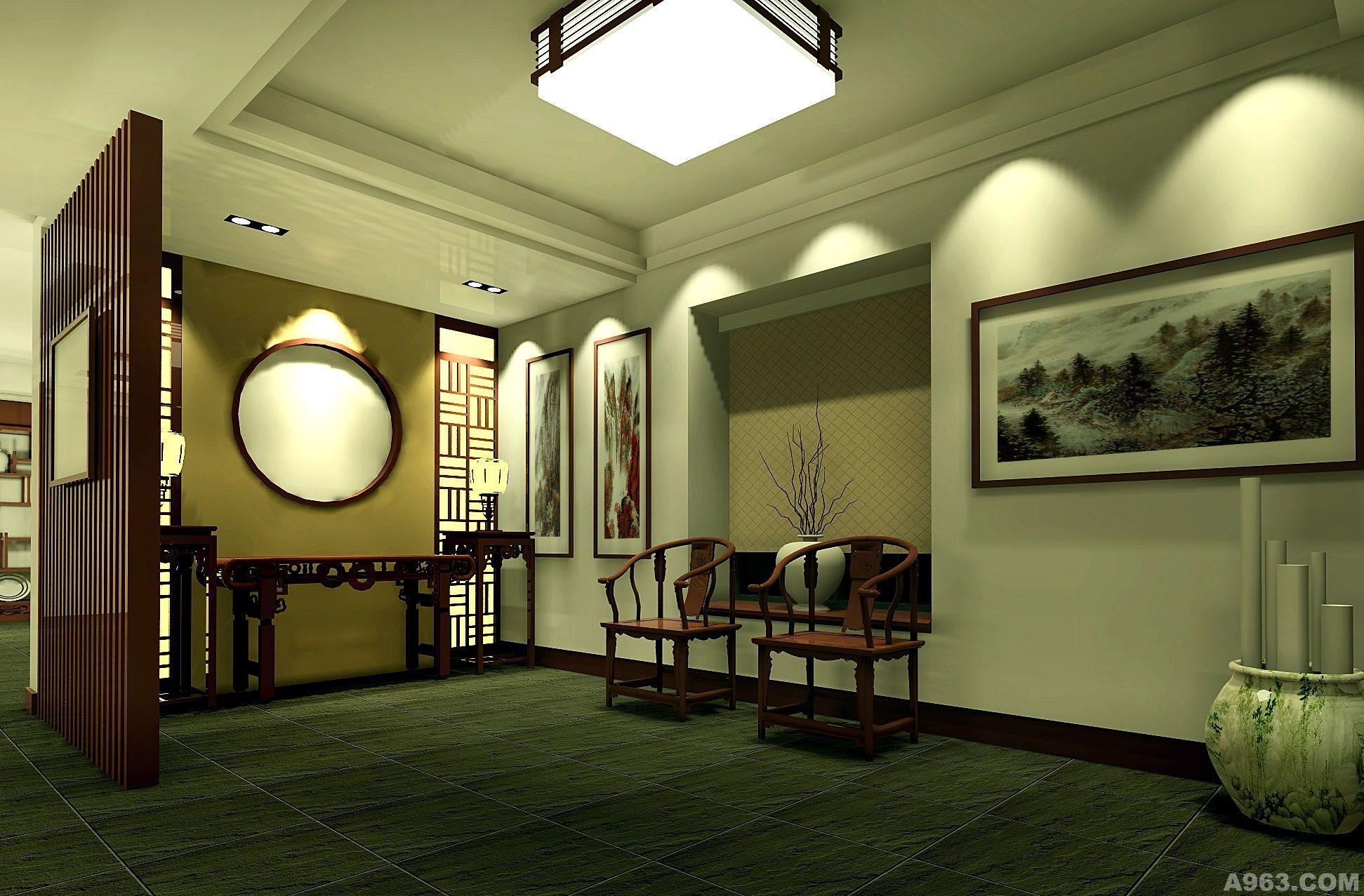 画廊- 陈设艺术 - 武汉室内设计网_武汉室内设计装修