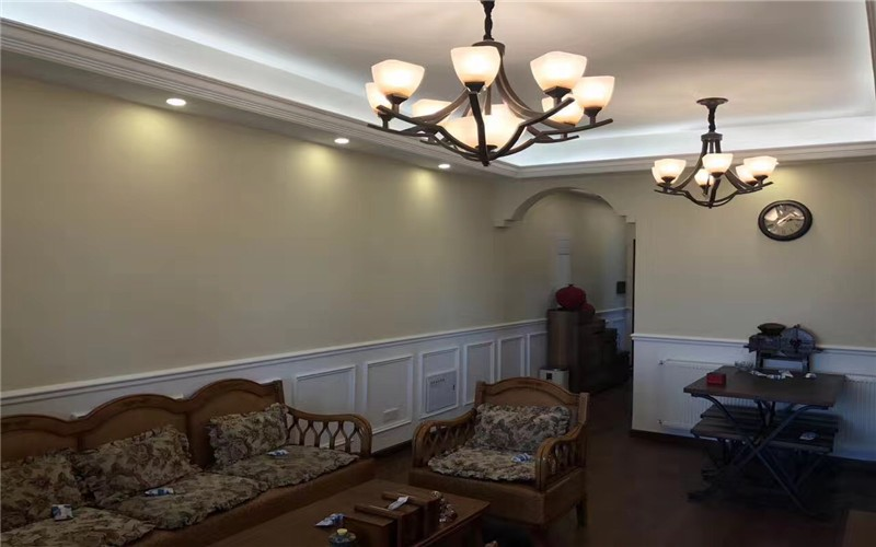 【武汉实创装饰】海马公园95平三居室简美凤全包完工图